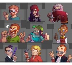 Illustration du jeu Magic Maze Hidden roles