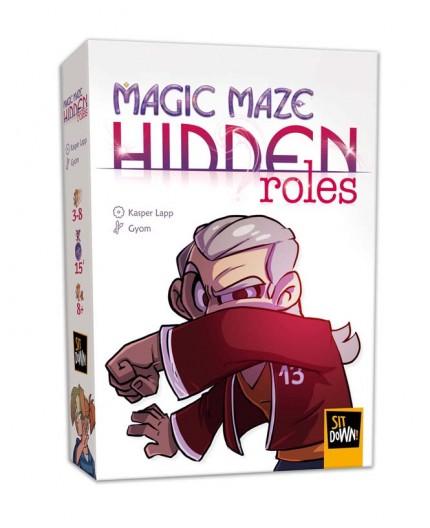 La boite du jeu de société Magic Maze Hidden roles