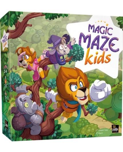 La boite du jeu de société Magic Maze Kids