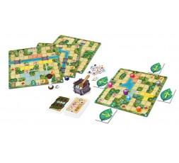 Le matériel du jeu Magic Maze Kids