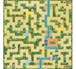 Le matériel du jeu de société Magic Maze Kids XXL