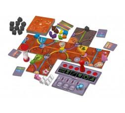 Le matériel du jeu de société Magic Maze on Mars