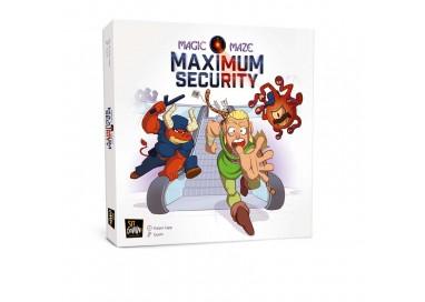 La boite du jeu de société Magic Maze Maximum Security