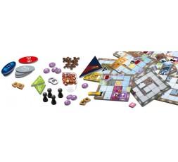 Le matériel du jeu de société Magic Maze Maximum Security