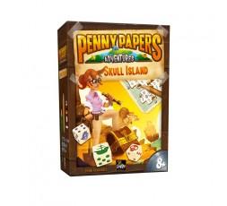 Boîte du jeu de société Penny Papers Adventures : Skull Island