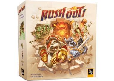 La boite du jeu de société Rush Out!