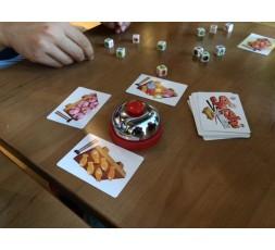 Le matériel du jeu de société Sushi Dice
