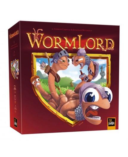 La boite du jeu de société Wormlord