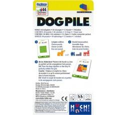 Le dos de la boite du jeu de société Dog Pile