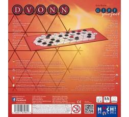 Le dos de la boite du jeu de société Dvonn