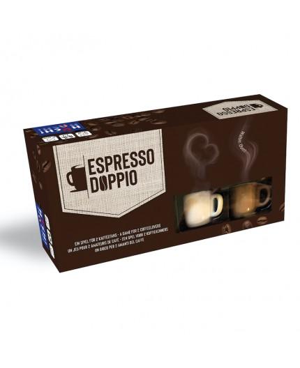 La boite du jeu de société Espresso Doppio