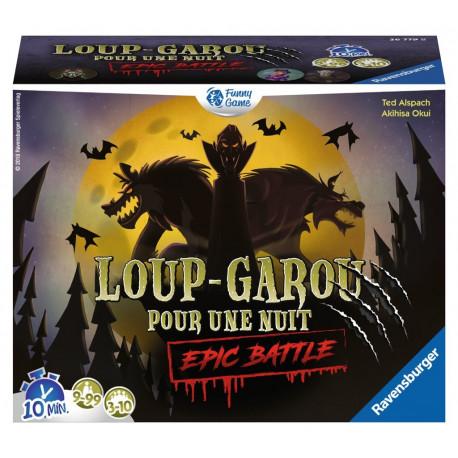 Boîte du jeu de société Loup Garou pour une Nuit - Epic Battle