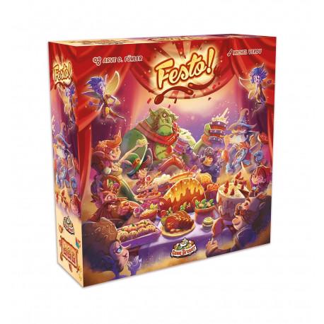Boîte du jeu de société Festo !